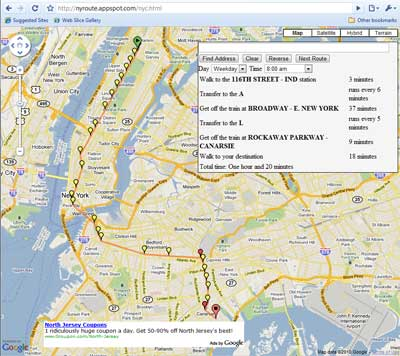 Ny Subway Map Google.Nyroute